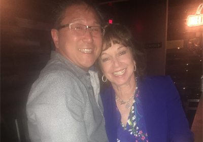 Mark Cheng and Nancy Cota